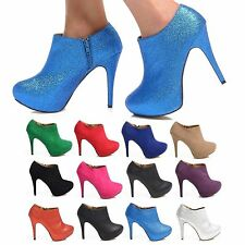 Party Ankle 100% Leather Upper Shoes for Women