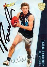 ✺Signed✺ 2012 HAWTHORN HAWKS AFL Card JONATHAN O'ROURKE Future Force