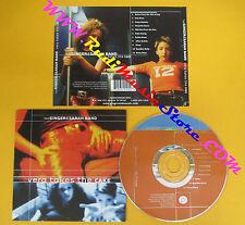 CD THE GINGER & SARAH BAND Vera Takes The Cake 2000 Us   no lp mc dvd (CS7)