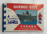 Vintage Mini Quebec City Canada Souvenir Postcard Folder