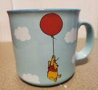 "Disney Winnie The Pooh Blue 20 oz  Mug NEW""You are braver than you believe ..."""
