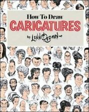 How to Draw Caricatures by Lenn Redman 1984 Softcover Book