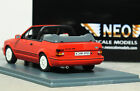 "1:43 NEO ""[MKIV] FORD ESCORT XR3i CABRIOLET"" (Radiant Red) RARE 18 MK4 Rs turbo"