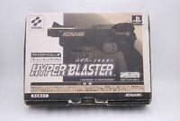 Sony PlayStation1 Gun Controller HYPER BLASTER w/ BOX Japan PS1 KONAMI SLPH00014