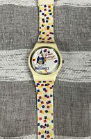 Vintage Bud Light Spuds Mackenzie Bud Light Watch 1980s Spuds Confetti Band HTF