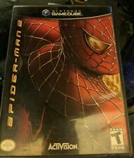 Spider-Man 2 (Nintendo GameCube, 2004) Manual included Tested - Con Very Good