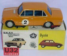 VERCOR 419T SEAT 124 #2 NARANJA CARROCERIA Y CHASIS DE LATA AÑOS '60 EXC.COND.