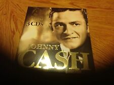 REDUCED---------JOHNNY CASH 3 CD SET. COUNTRY-  GREAT CD'S