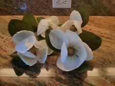 Pier 1 ~Magnolia~ 4 napkin rings flower new set