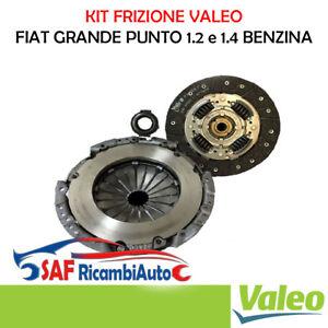 KIT FRIZIONE 3 PEZZI VALEO FIAT GRANDE PUNTO LANCIA YPSILON 1.2 1.4 BENZINA