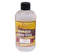 PARFUM INTERIEUR VANILLE POUR LAMPE A CATALYSE 500 ML huiles essentielles