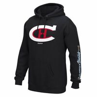 Montreal Canadiens NHL Reebok Black 2016 Winter Classic Jersey Crest Hoodie