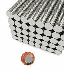 25-500Pcs N52 10X2mm Super Strong Round Fridge Rare Earth Neodymium Magnets