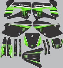 1998-2013 Kawasaki KX85 KX100 KX 85 100 motocross graphics decals stickers