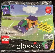 1999 McDonald's LEGO Happy Meal Toy Set Grimace #5 in set New Sealed Car