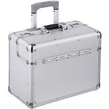 Valise mallette de pilote en pilot case trolley à roulettes avec poignée