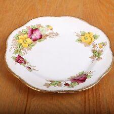 Salisbury Bone China Pansy Luncheon Plate