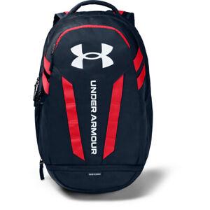 Under Armour 1361176 UA Hustle 5.0 Storm Backpack School Laptop Book Bag
