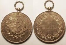 Grande médaille, Concours musical de Villefranche, Rhone, le 14 & 15 aout 1887 !