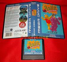 BALLZ 3D Sega Mega Drive Ball Z Versione Europea PAL ○ SENZA MANUALE - DH