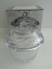 NEW Godinger 64601 Cupcake Covered Box - Crystal