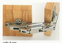 Salice cerniera art C2 AF/A99 a 165° per ante pensili mobili chiusura automatica