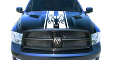 Hemi Dodge Ram Hood Stripe Truck Decals Mopar Stickers  Racing Graphics