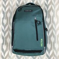 Sharper Image Vector Unisex Backpack REI Teal Blue Air Flow Quality Laptop Bag
