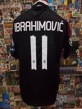 maglia calcio shirt maillot camiseta trikot MILAN IBRAHIMOVIC TG M PATCH