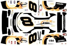 #8 Dale Earnhardt jr D.M.P. 2003 1/64th Ho Scale Slot Car Waterslide Decals