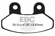FIT SYM  Joyride EVO 125 i (Twin Headlights) 09>15 EBC FRONT CARBON BRAKE PADS