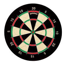 WINMAU IPSWICH 5'S DARTBOARD Steel Tip Specialist Dart Board