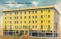 Phoenix, ARIZONA - Arizona Hotel - 1953 -  ARCHITECTURE - old cars