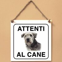 Glen of Imaal Terrier 3 Attenti al caneTarga cane cartello Ceramic Tiles