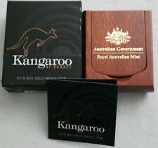 💰2016 Kangaroo at Sunset $25 1/5oz Gold Proof Coin- RAM - Ballot Coin # 638