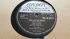 JIM LOWE THE GREEN DOOR & THE LITTLE MAN IN CHINA TOWN LONDON HL-D.8317