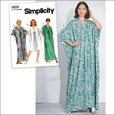 S8877 Sewing Pattern Vintage 1960's Caftan in 2 Lengths XS-XL 39363588771 Easy
