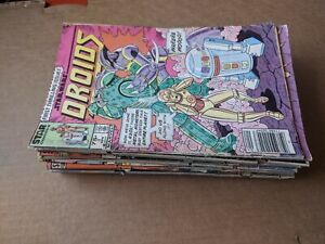 Marvel Droids Ewoks Royal Roy Fraggle Rock Time Bandits Wally #1 - 10 (20 comics