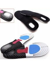 Unisex Orthotic Arch Support Insoles Sport Comfort Shoe Shock Absorb Gel Heel UK
