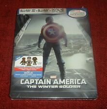 Captain America: TWS *Blu - Ray Steelbook* / Best Buy Brand New / Factory Sealed
