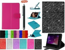 """Universal Folio Leather Flip Case Cover For Android Tablet PC 7"""" 9.7"""" 10"""" 10.1"""""""