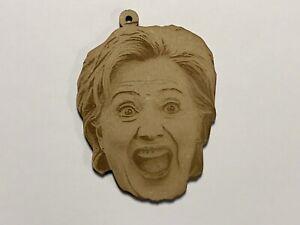 MAGA Trumped Hillary Clinton Christmas Xmas Tree Ornament Decoration Trinket