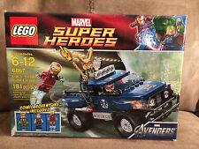 Lego 6867 Marvel Super Heroes Loki's Cosmic Cube Escape NEW set