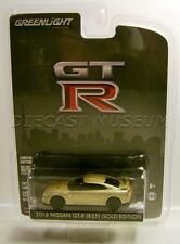 2016 '16 NISSAN GT-R R35 GOLD ANNIVERSARY COLLECTION GREENLIGHT DIECAST 2016