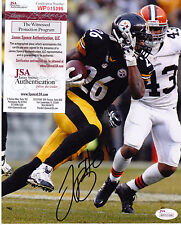 LE'VEON BELL  PITTSBURGH STEELERS  JSA AUTHENTICATED   ACTION SIGNED 8x10