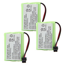 3x 800mAh 3.6V Replacement Battery for Uniden:BT1001 BT-1004 BT1004 BT909 DCX750