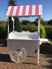 CANDY CART SWEETS WEDDING CAKE SATND MARKET BARROW STALL TROLLEY NEW FOR SALE
