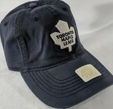 LZ Reebok Adult Fitted S/M Toronto Maple Leafs NHL Baseball Hat Cap NEW E58