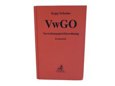 Verwaltungsgerichtsordnung VwGO Kopp Schenke 22. Auflage