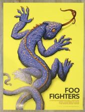 Foo Fighters Poster Woodland, Tx 2018 Variant Artist Edition N.C. Winters xx/75